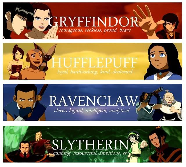 Which HP/ATLA/LOK Character are you?
