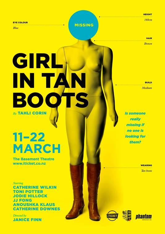 Girl In Tan Boots