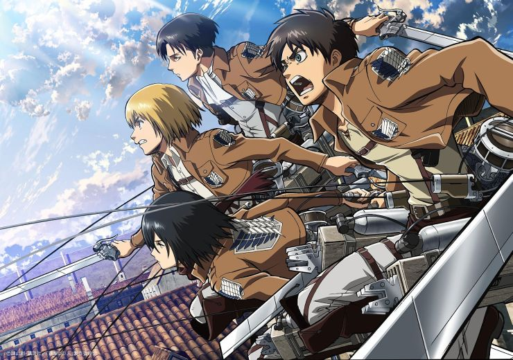 ©Hajime Isayama, Kodansha/''ATTACK ON TITAN'' Production Committee. Licensed by Kodansha through FUNimation® Productions, Ltd. All Rights Reserved.
