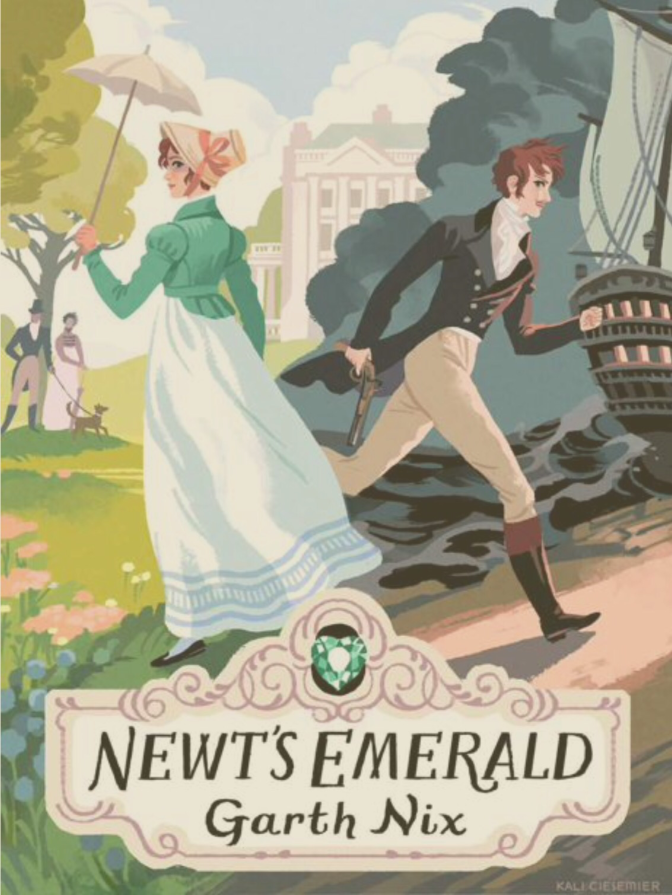 Book Review: Newt's Emerald by Garth Nix