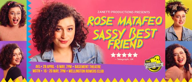 Rose Matafeo | Sassy Best Friend